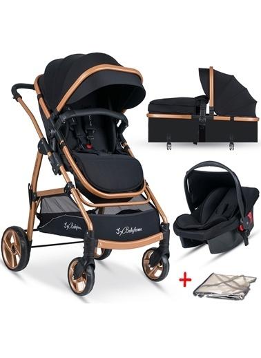 Baby Home Baby Home Bh-855 Mix  Travel Sistem Bebek Arabası Siyah